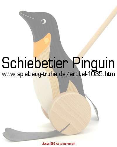pinguin mit watschelf en zum schieben. Black Bedroom Furniture Sets. Home Design Ideas