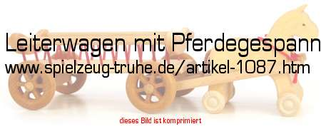 Pferdewagen Holzspielzeug Holzspielzeug Bauernhof