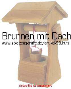 brunnen mit dach in bauernhof zubeh r. Black Bedroom Furniture Sets. Home Design Ideas