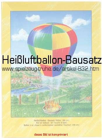 Heißluftballon-Bausatz in Lernspielzeug