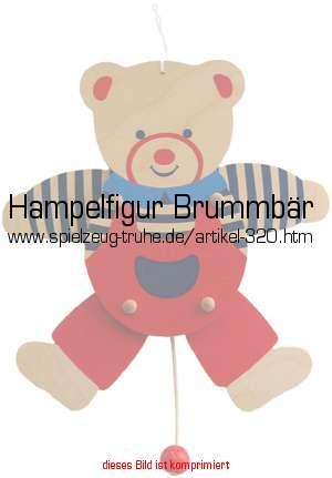 Hampelfigur Brummbär in Klettermax & Hampelmann
