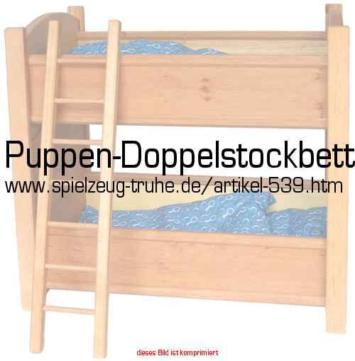puppen doppelstockbett in puppen und puppenm bel puppenm bel. Black Bedroom Furniture Sets. Home Design Ideas