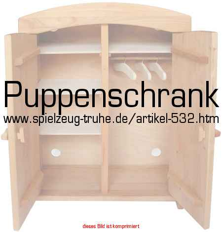 puppenschrank in puppen und puppenm bel puppenm bel. Black Bedroom Furniture Sets. Home Design Ideas