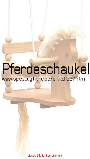 pferdeschaukel in spielzeug f r drau en. Black Bedroom Furniture Sets. Home Design Ideas