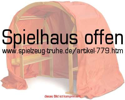 spielhaus offen in kinderzimmer accessoires spielst nder. Black Bedroom Furniture Sets. Home Design Ideas